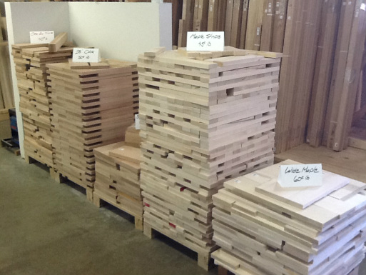 Discount Lumber Outlet, alder casing